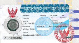 9月27日起泰国旅行落地签费用翻倍 建议办一般签证(转)