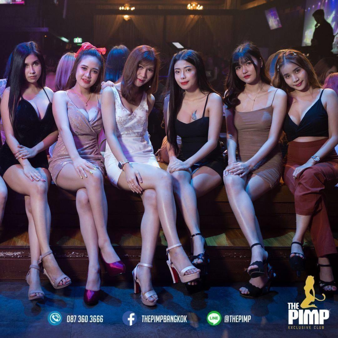曼谷尺度最大的夜总会the pimp,也有中文服务了